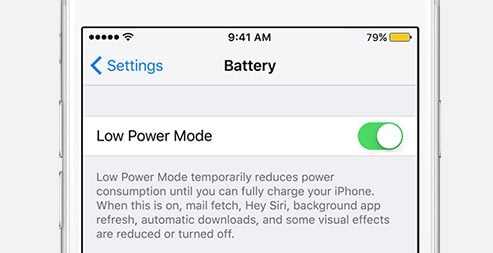 Easily Boost Battery Life in iOS
