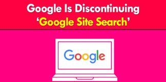 Google Is Discontinuing Google Site Search