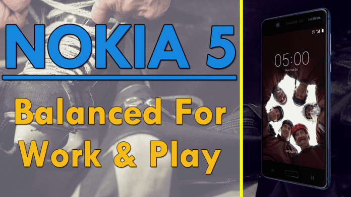 HMD Global Launched New Nokia 5 With 2GB RAM, 13MP Camera, Octa-Core Processor