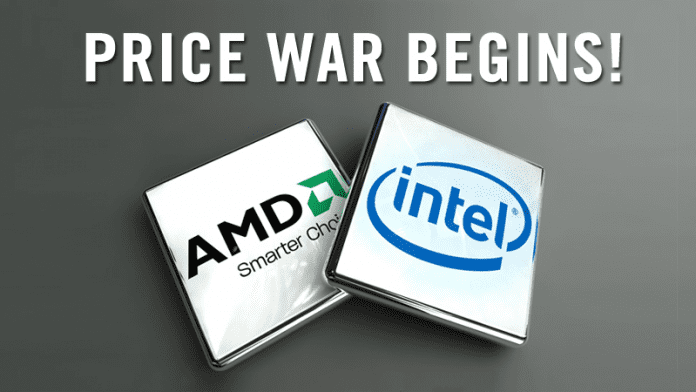 Price War Begins! Intel Slashed Its Processor Prices