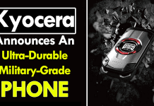 Kyocera Announces An Ultra-Durable, Military-Grade Phone