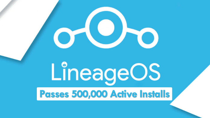LineageOS Passes 500,000 Active Installs Worldwide