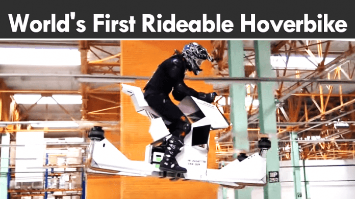 Meet The World's First Rideable Hoverbike That Looks Really Cool
