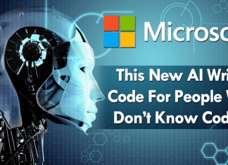 Microsoft's New AI Writes Code For People Who Don't Know Coding
