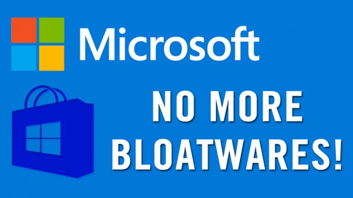 Microsoft Kills Bloatware Installation In Windows 10