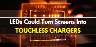 New Two-way LEDs Could Turn Screens Into Touchless Chargers
