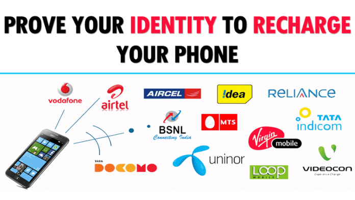 You Might Have To Prove Your Identity To Recharge Your Phone