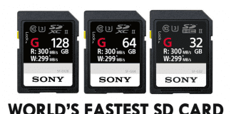 Sony Just Announced The World's Fastest SD Card