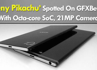 Sony Pikachu Spotted On GFXBench With Octa-core SoC, 21MP Camera