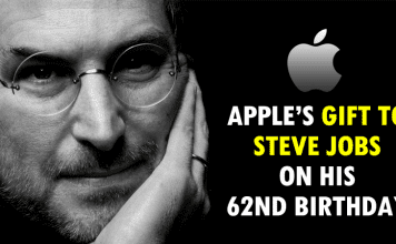 Here's What Apple Gifted To Steve Jobs On His 62nd Birthday