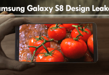 Surprise! Samsung Galaxy S8 Design Leaked