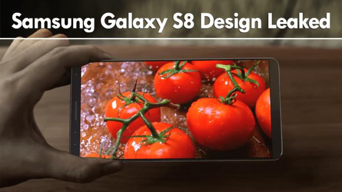 Surprise! Samsung Galaxy S8 Design Leaked
