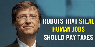 Bill Gates: Robots That Steal Human Jobs Should Pay Taxes