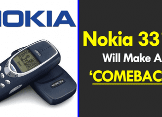 The Iconic Nokia 3310 Will Make A Comeback This Month