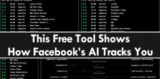This Free Tool Shows How Facebook's AI Tracks You All The Time
