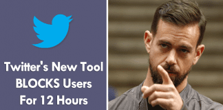 Twitter's New Tool BLOCKS Users For 12 Hours