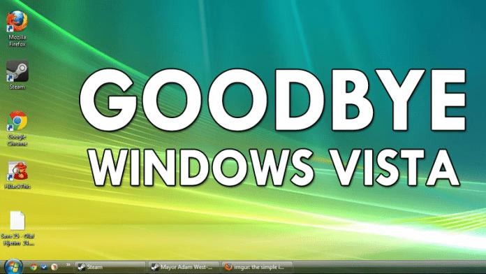 Say GoodBye To Windows Vista!