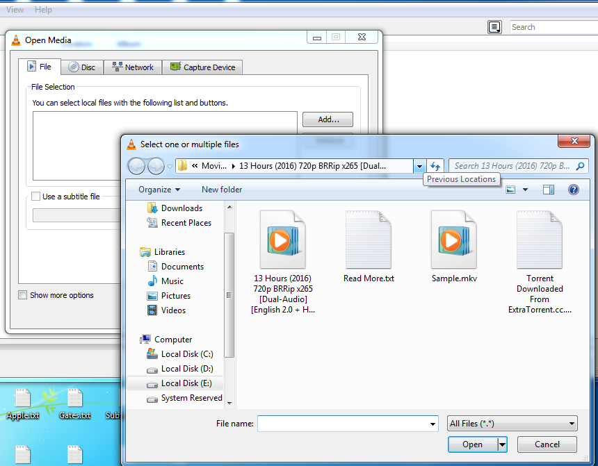 Convert Video Files Using VLC Media Player
