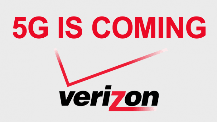 5G Is Coming This Year! Verizon Announces Test Program