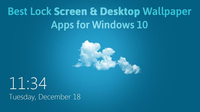 win10 lock screen