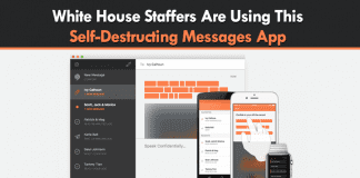 White House Staffers Are Using This Self-Destructing Messages App