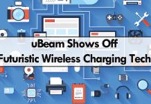 uBeam Shows Off Futuristic Wireless Charging Tech