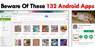 132 Android Apps On Google Play Were Infected With Windows Malware