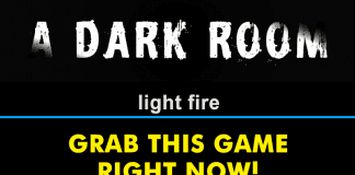 The Game *A Dark Room* Is Free On Google Play Store: Grab It Right Now!
