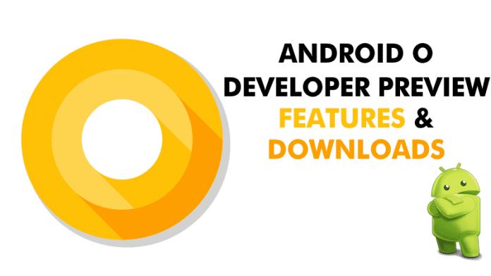 Google Officially Launches Android O Developer Preview Images