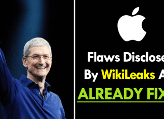 Apple: Many Flaws Disclosed By WikiLeaks Are Already Fixed