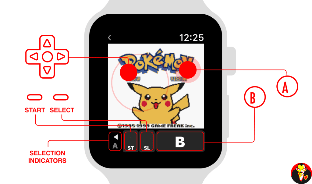 Apple Watch Pokemon Controls