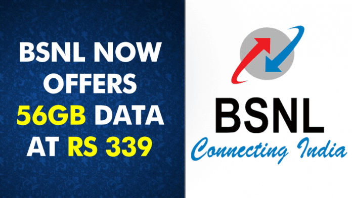 BSNL Beats Reliance Jio, Offers 56GB Data At Rs 339
