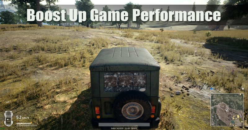 How To Boost Up Game Performance In your Windows PC
