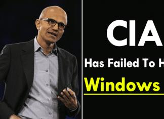 CIA Has Failed To Hack Windows 10: Microsoft
