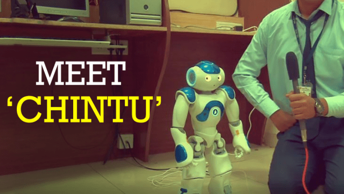 MIT Pune Develop Robot Called