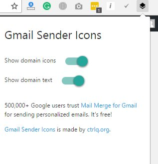 Email Sender Logo In Gmail Inbox