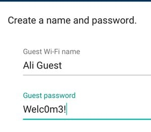 Enable a Guest Network on the Google Wifi System