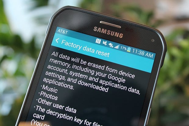 Don't Factory Reset Frequently