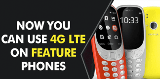 Feature Phones Are Getting Smarter! You Can Use 4G LTE On Feature Phones