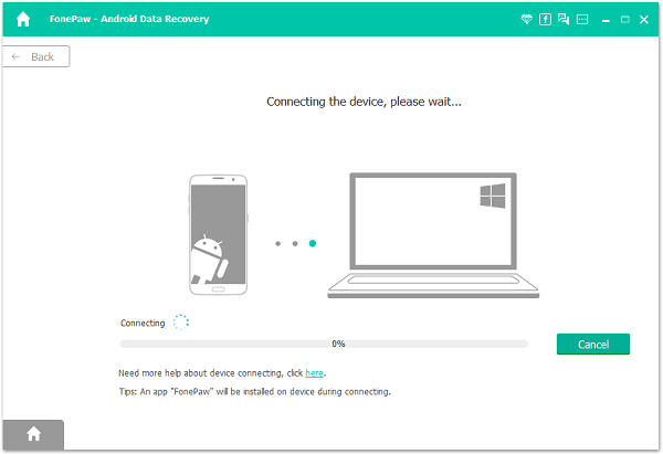 Install FonePaw Android Data Recovery