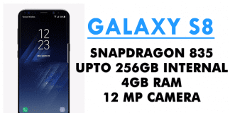 Samsung Galaxy S8 Launched! Full Specs, Release Date & Price