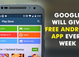 Good News Android Users! Google Will Give *FREE* Android App Every Week