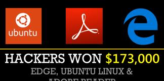 Hackers Won $173,000 For Hacking Microsoft Edge, Ubuntu Linux & Adobe Reader