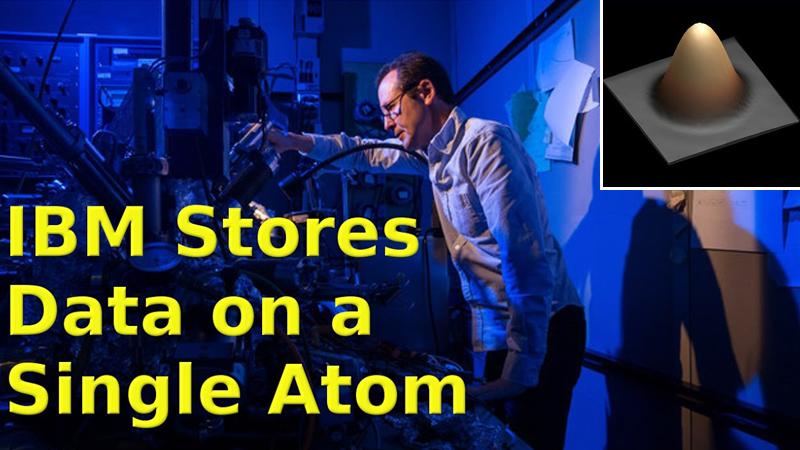IBM Turned A Single Atom Into A Tiny Hard Drive
