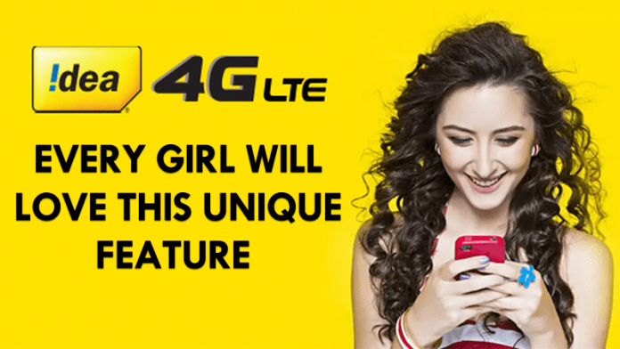 Idea Cellular Introduced A *Unique* Feature That Every Girl Will Love