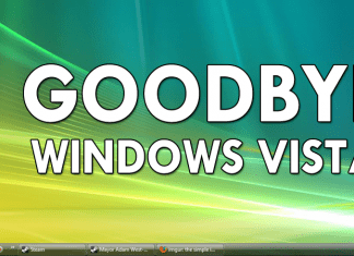 It's Time To Say GoodBye To Windows Vista