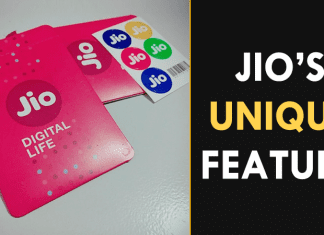 """Reliance Jio Just Announced A """"Unique"""" Feature For Users"""
