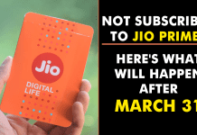 What Will Happen To Your Jio Sim If You Are Not A Prime Member?