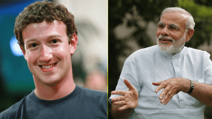Here's What Mark Zuckerberg Said About Narendra Modi In A Facebook Post