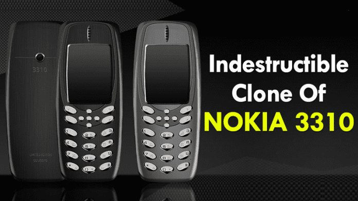 Meet The Indestructible Clone Of Iconic Nokia 3310